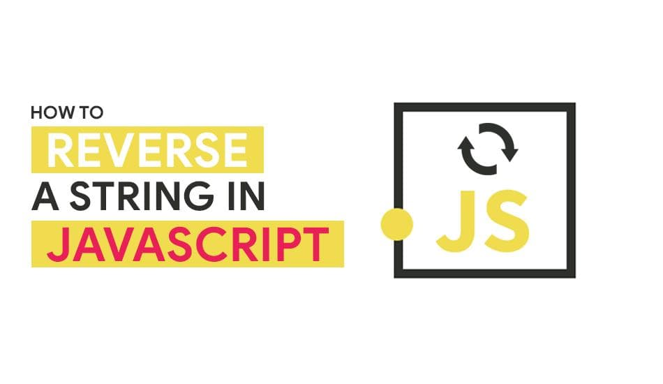 Reverse a string in javascript